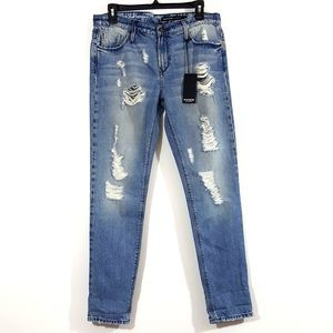 Black Orchid NWT Distressed Boyfriend Jeans 26